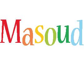 Masoud birthday logo