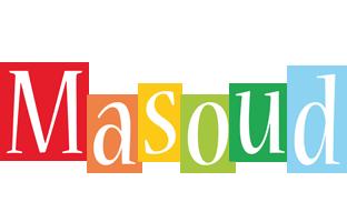 Masoud colors logo