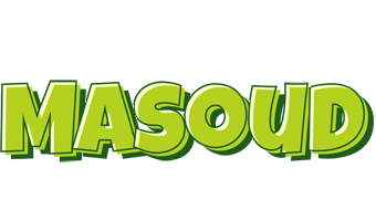 Masoud summer logo