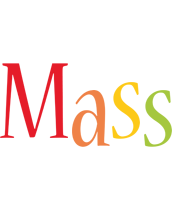 Mass birthday logo