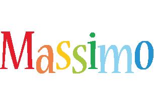 Massimo birthday logo