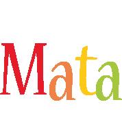 Mata birthday logo