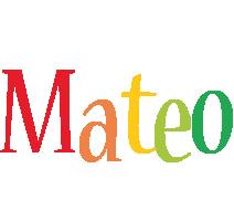 Mateo birthday logo