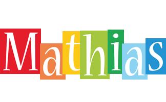 Mathias colors logo