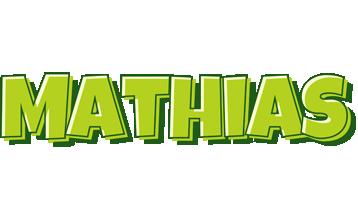 Mathias summer logo