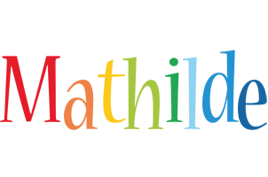 Mathilde birthday logo