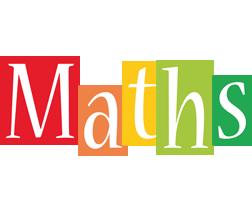 Maths colors logo