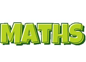 Maths summer logo
