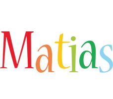 Matias birthday logo