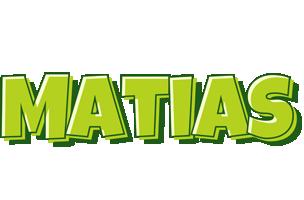 Matias summer logo