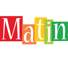 Matin colors logo