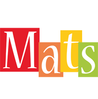 Mats colors logo