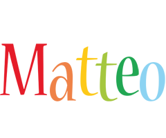 Matteo birthday logo