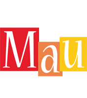 Mau colors logo