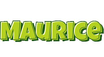 Maurice summer logo