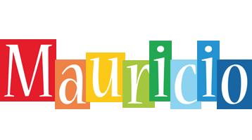 Mauricio colors logo