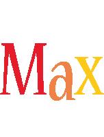 Max birthday logo