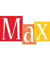 Max colors logo