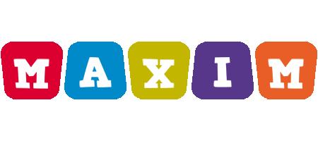 Maxim kiddo logo