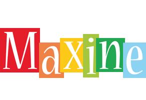 Maxine colors logo