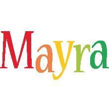 Mayra birthday logo
