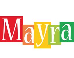 Mayra colors logo
