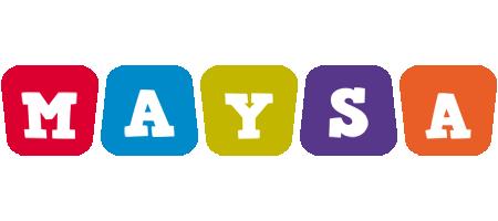 Maysa kiddo logo
