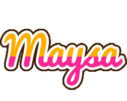 Maysa smoothie logo