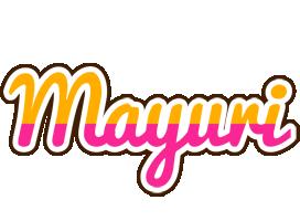 Mayuri smoothie logo