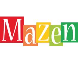 Mazen colors logo