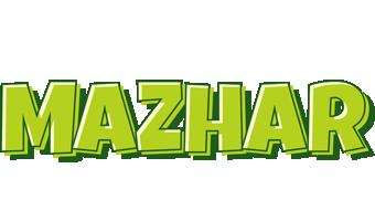 Mazhar summer logo