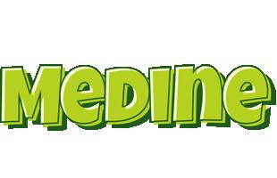 Medine summer logo