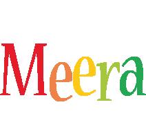 Meera birthday logo