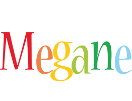 Megane birthday logo