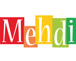 Mehdi colors logo