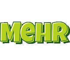 Mehr summer logo