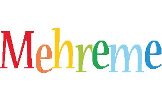 Mehreme birthday logo