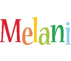 Melani birthday logo