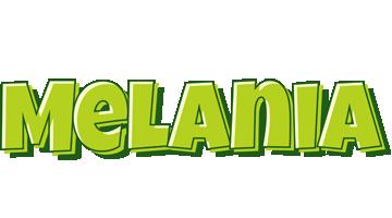Melania summer logo