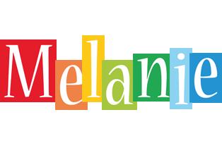 Melanie colors logo