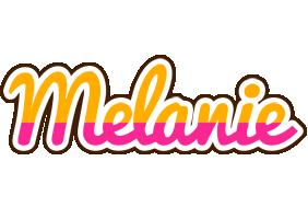 Melanie smoothie logo