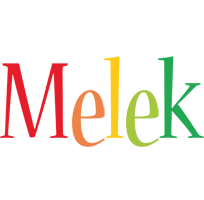 Melek birthday logo