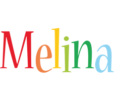 Melina birthday logo
