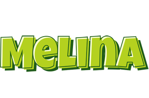 Melina summer logo