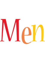 Men birthday logo