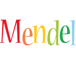 Mendel birthday logo