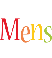 Mens birthday logo