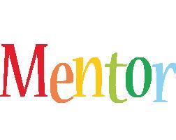 Mentor birthday logo