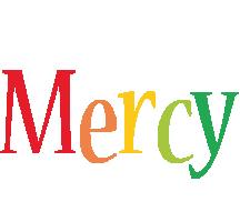 Mercy birthday logo