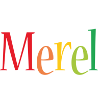 Merel birthday logo